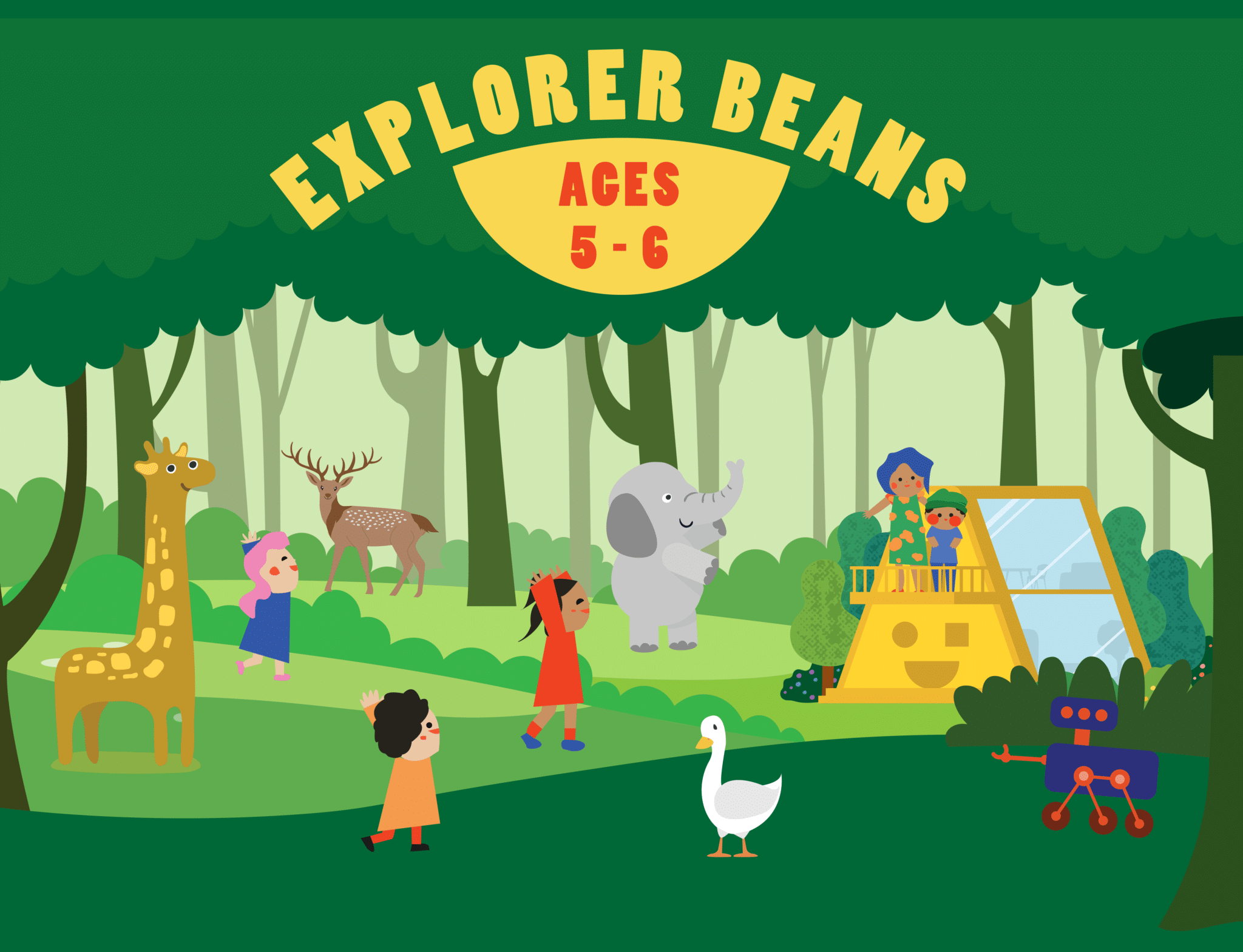 Coding X English: Saturdayland Explorer Beans