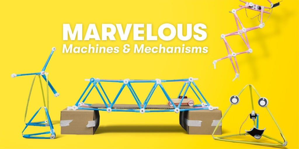 Marvelous Machines & Mechanisms (In English)