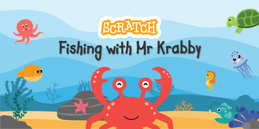 Scratch: Fishing with Krabby